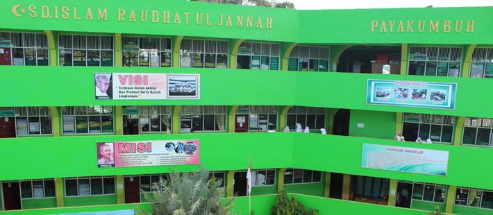 Gedung Pendidikan SD Islam Raudhatul Jannah